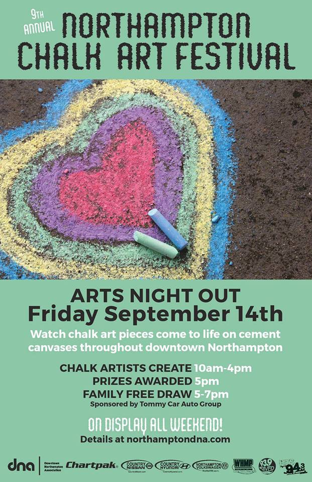 Chalk Art Festival- Arts Night Out