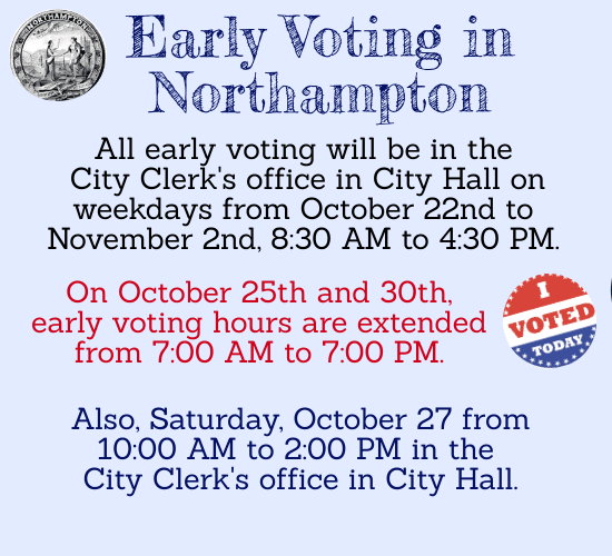 Image of Early Voting Information graphic