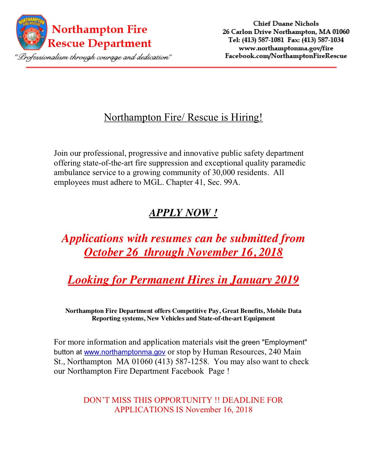 NFR is Hiring 2018