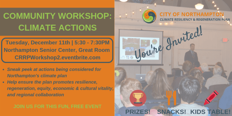 Image of Community Workshop- Climate Action poster