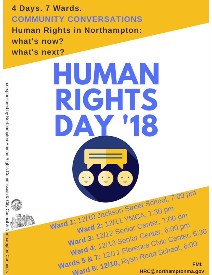 Image of Human Rights Day 2018 poster
