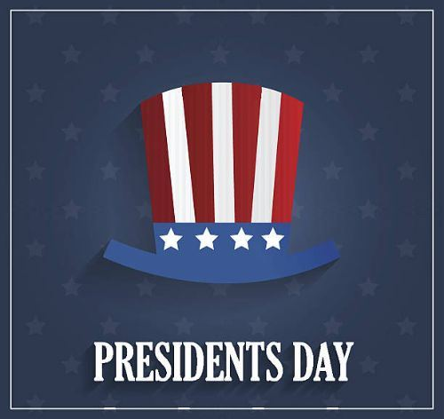 Image of Presidents Day graphic