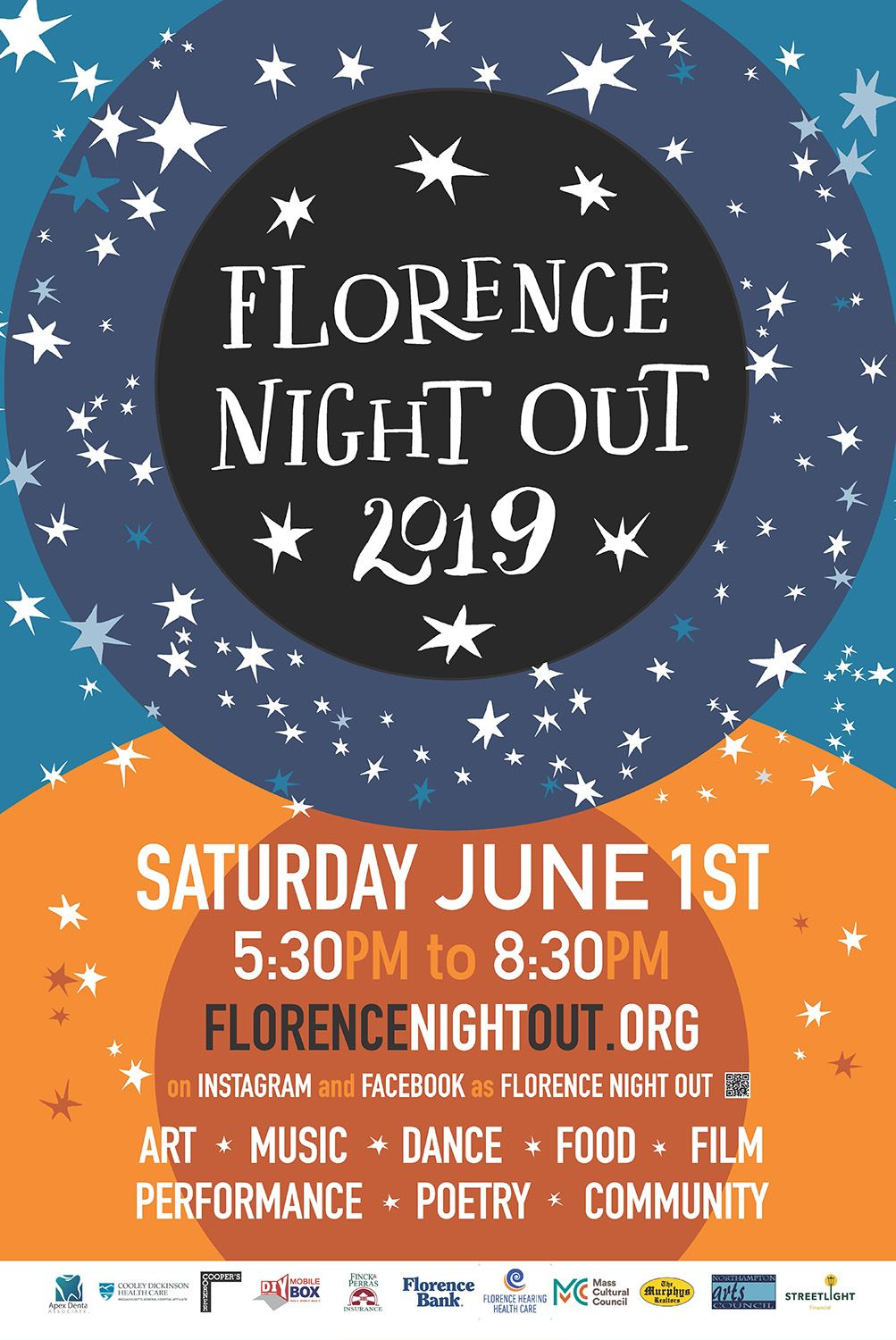 Image of Florence Night Out poster