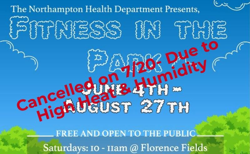 Image of Fitness in the Park- Cancelled 7-20 graphic