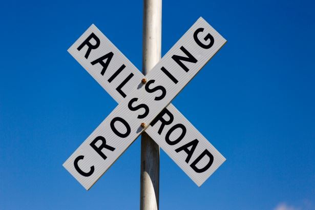 Image of a railroad-crossing-sign