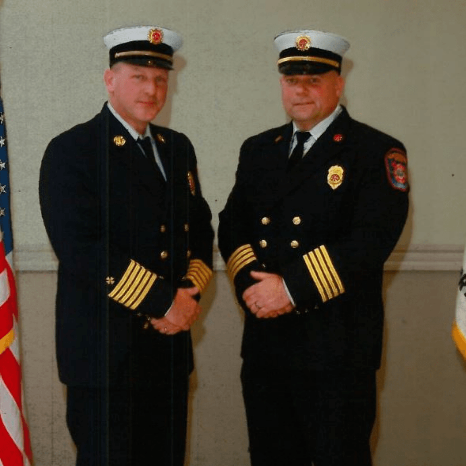 Image of Chief Nichols and Assistant Chief Davine