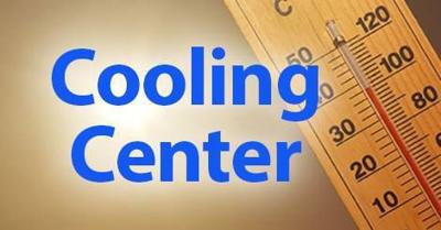 Cooling Center Image with thermometer