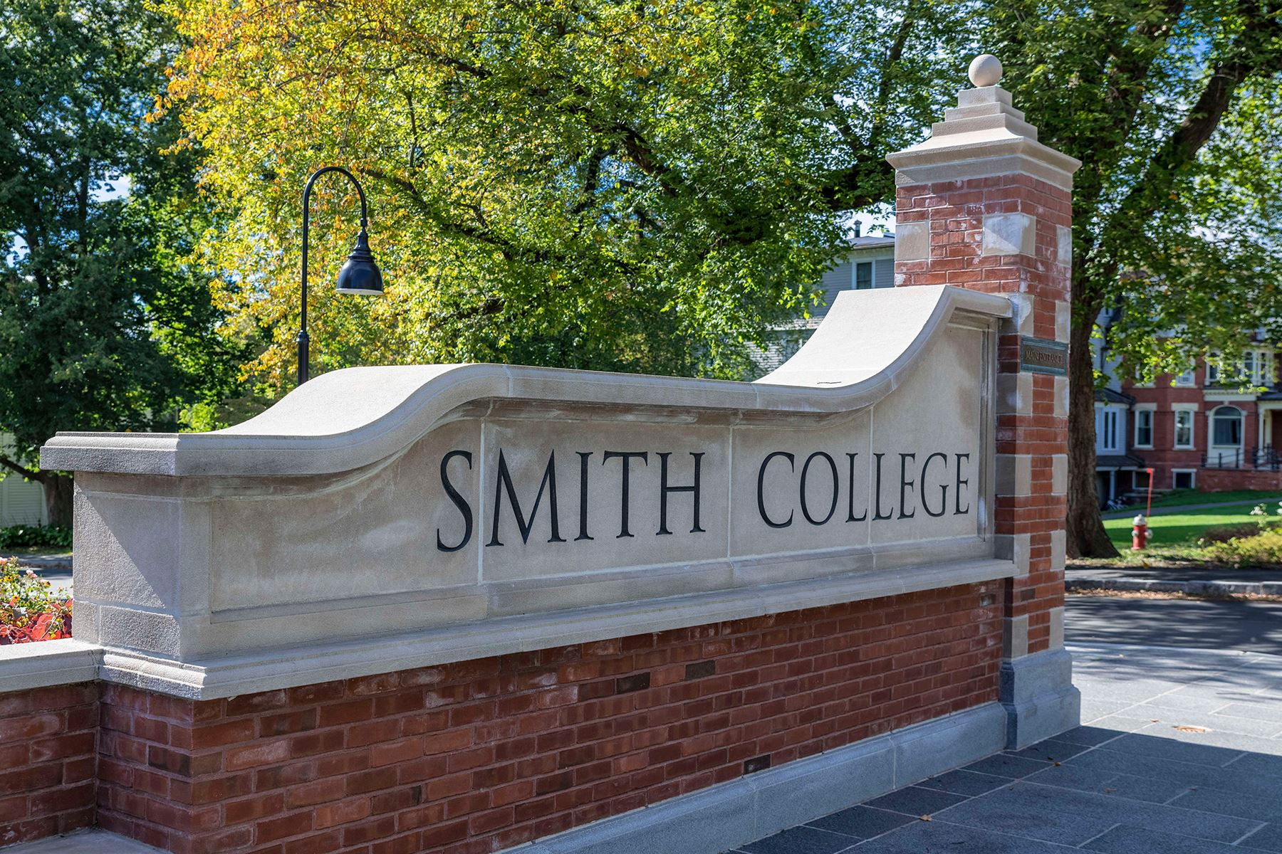 Smith College entrance