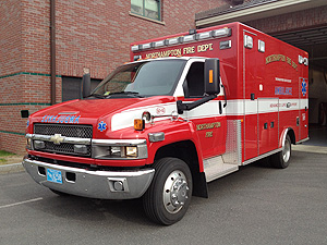 Red Ambulance
