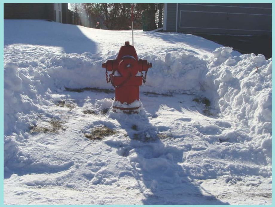 Fire Hydrant Clearing