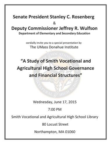 Smith Voc Study Flyer
