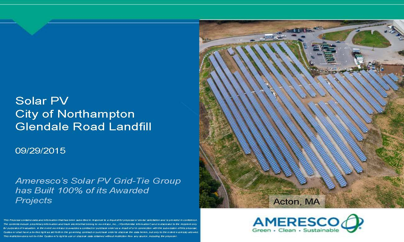 Pages from Northampton Landfill Solar PV