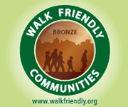Walk Friendly Communities - Bronze Award