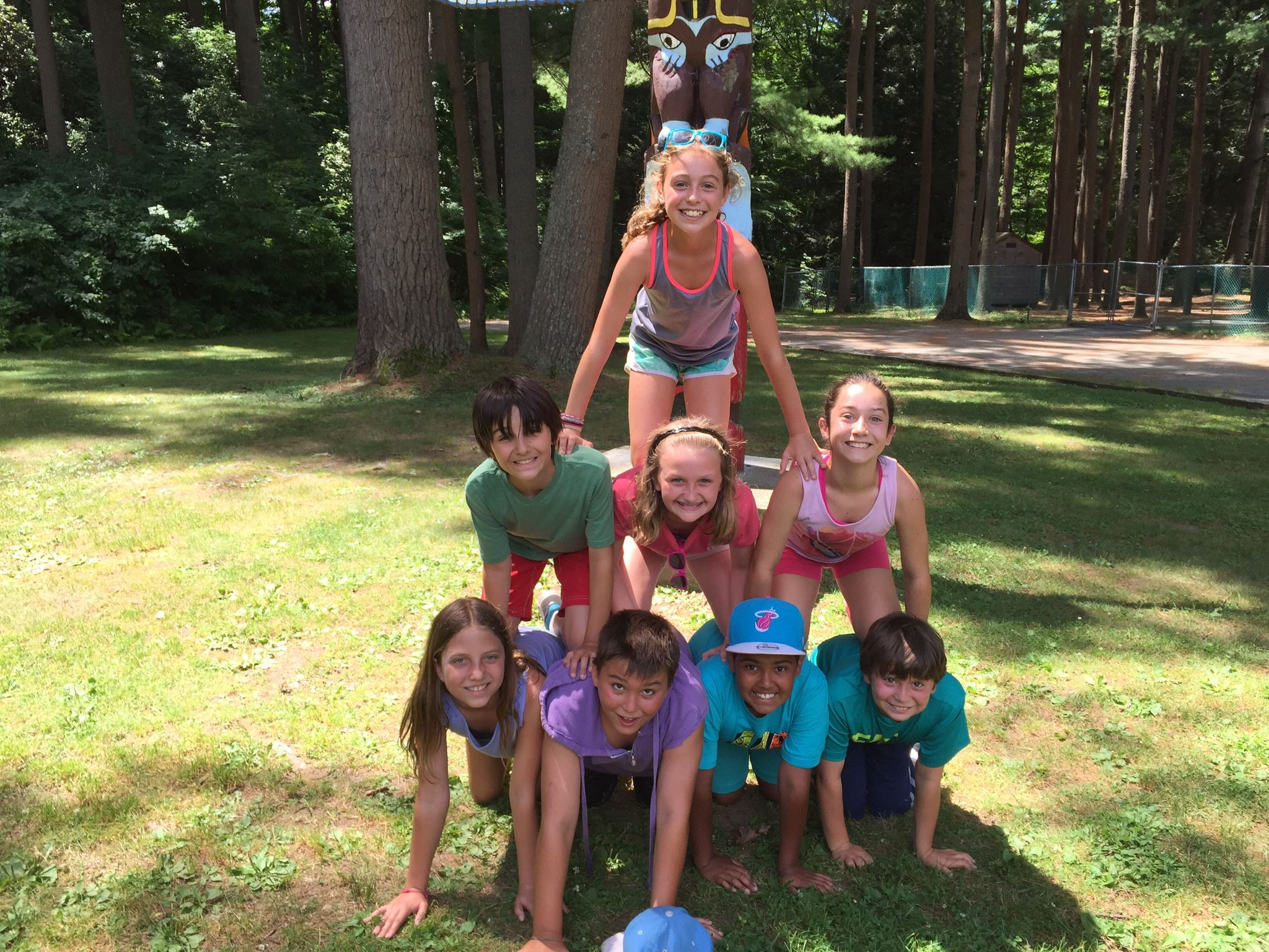Camp Hamp Pyramid