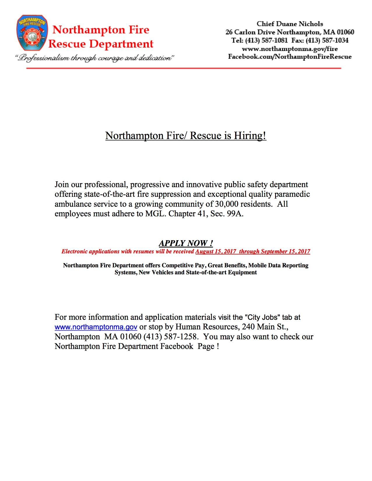 NFR is Hiring 2017