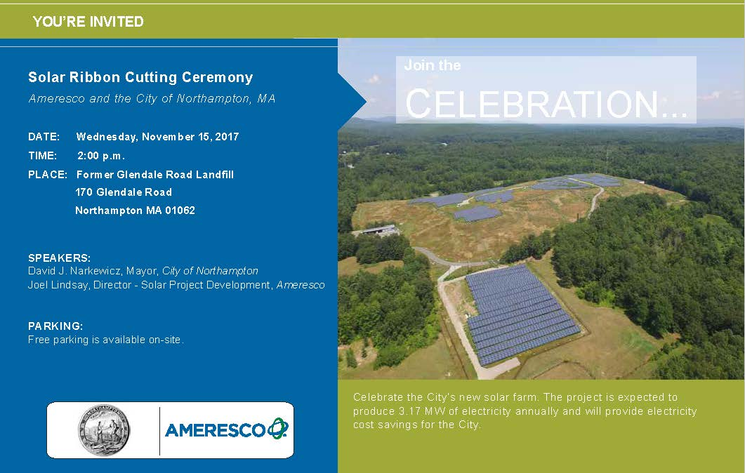 Invitation Solar Array flyer
