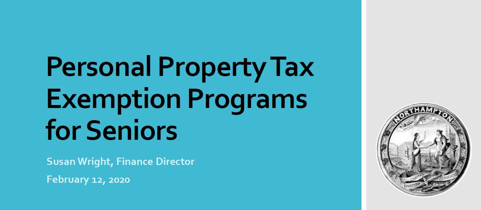 Image of Personal Property Tax Exemption Programs