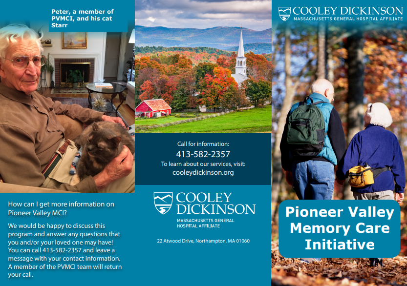 Image of Pioneer Valley Memory Care Initiative Brochure