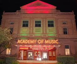 Academy of Music Marquee