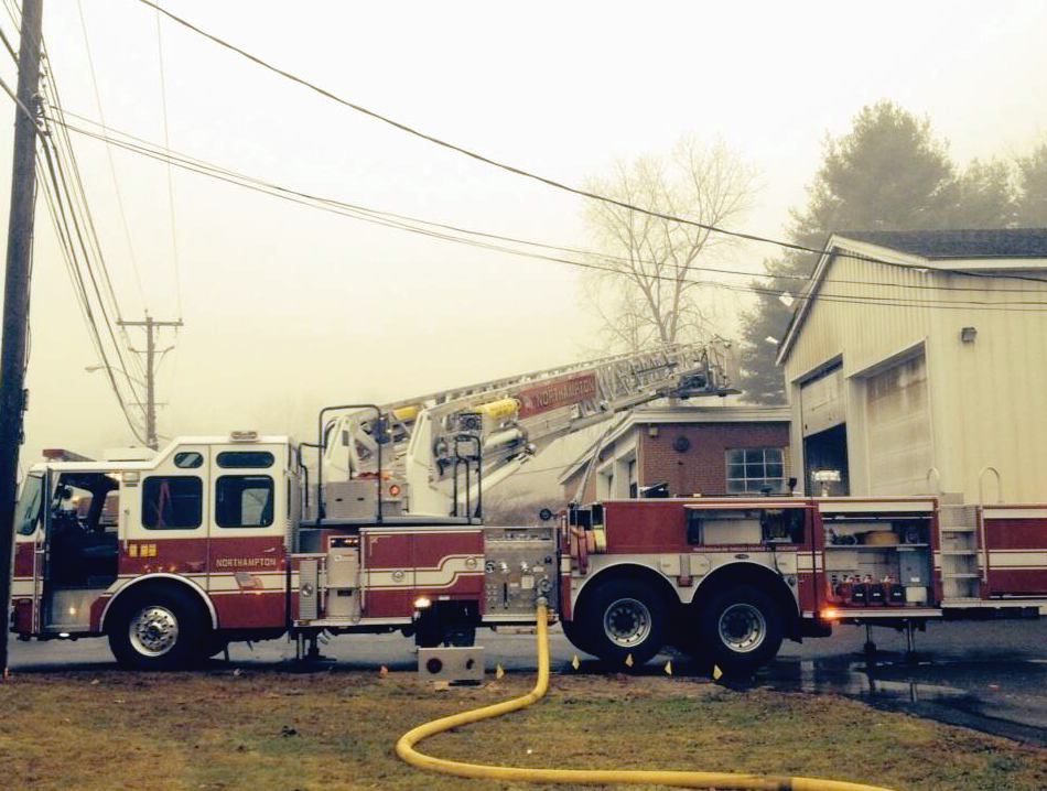 Easthampton Road Fire